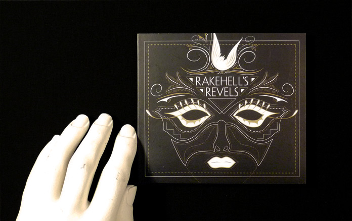 Rakehell's CD Packaging Front
