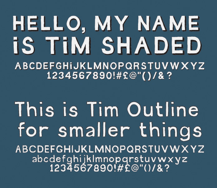 Tim Type Sample